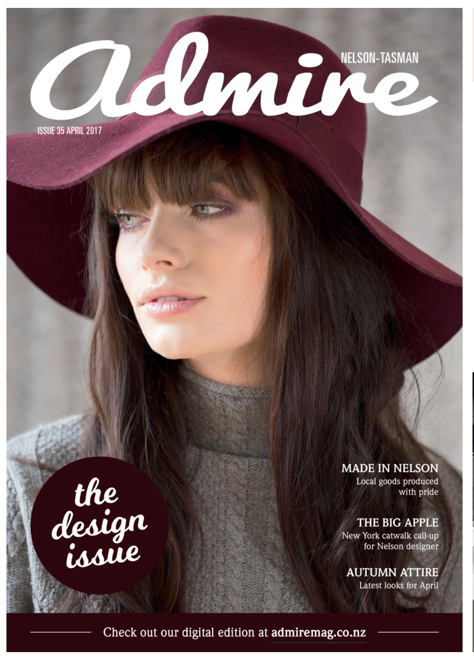 On the cover: Shannon Cassidy wearing hat and top from Trouble & Fox.