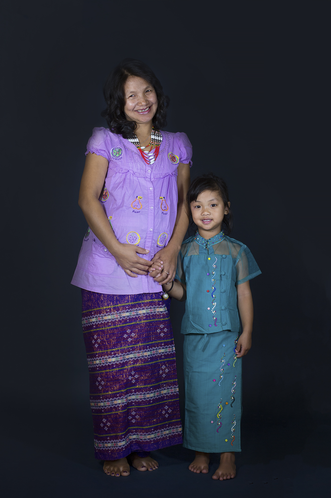 Julie-San and Blessing - Myanmar Hair: Ema Soole