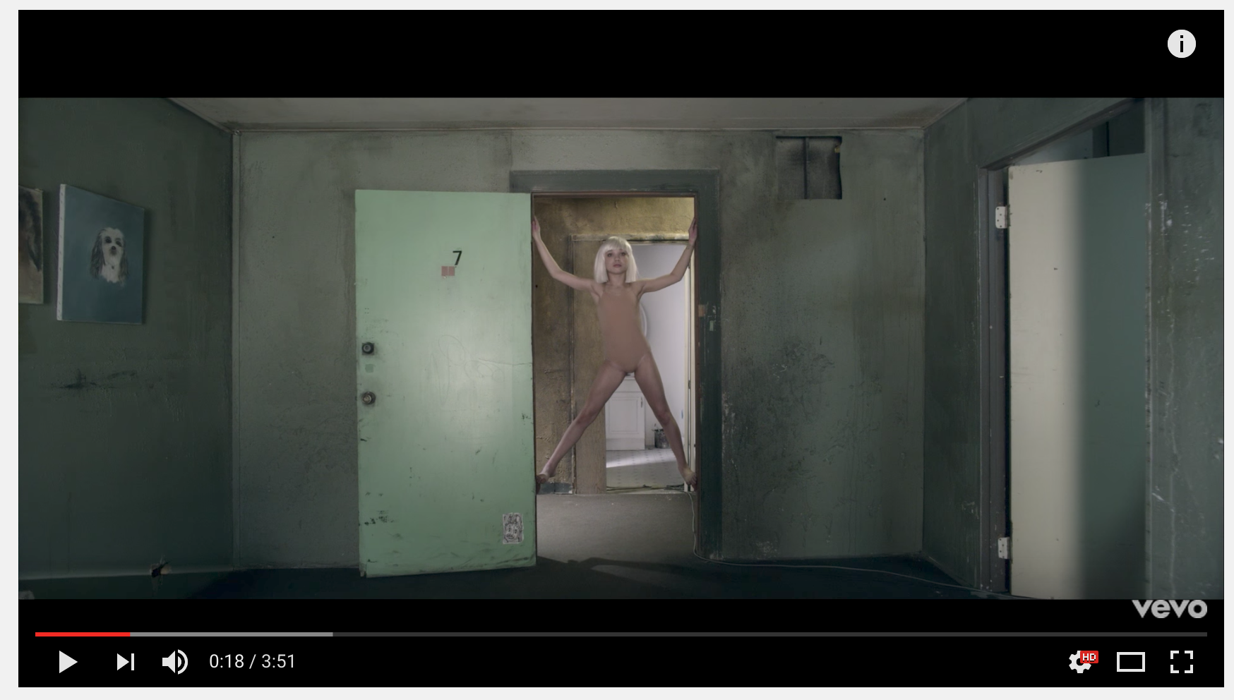 Sia - Chandelier (Official Video) LINK HERE