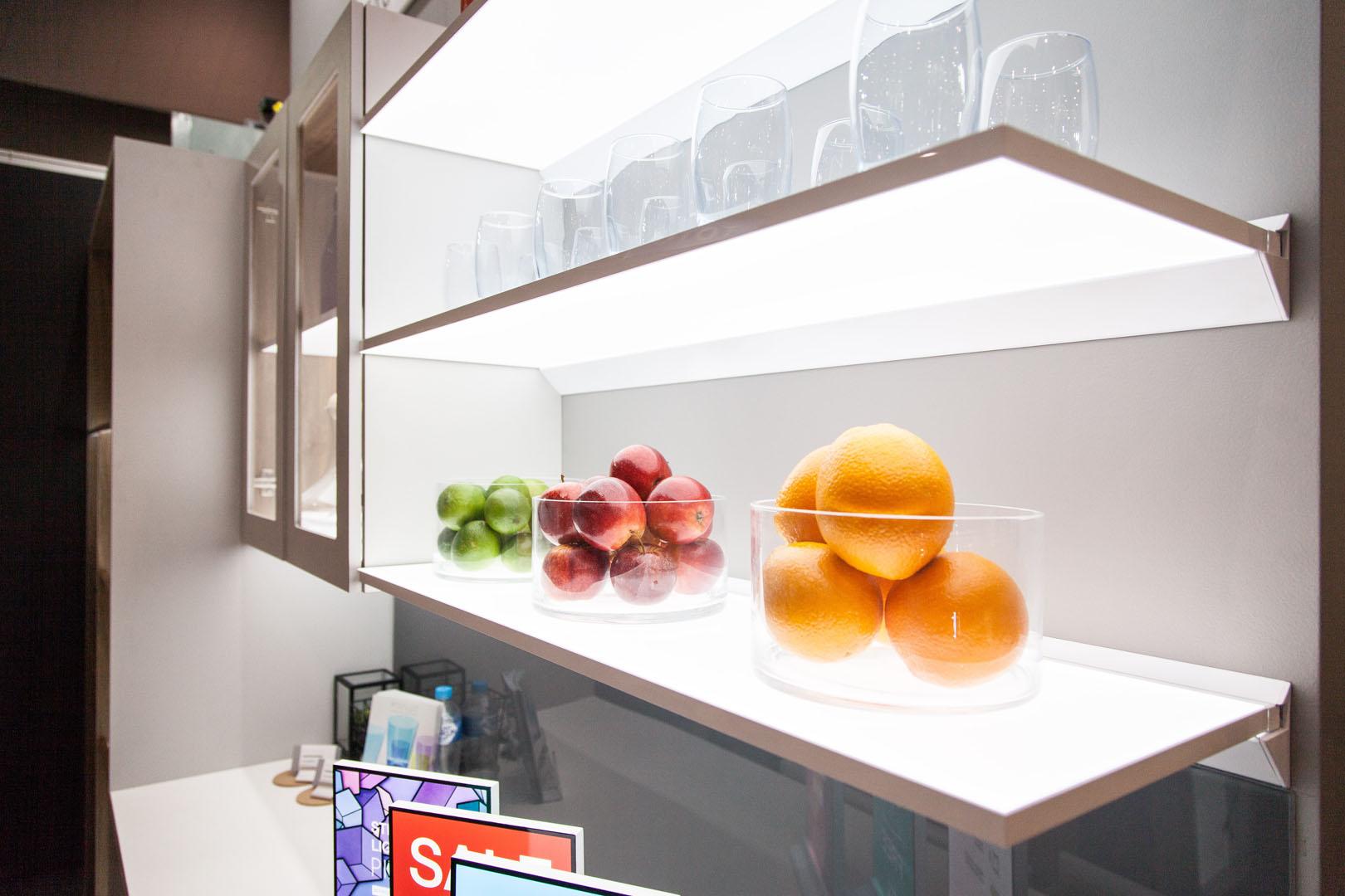 Pixalux floating shelves
