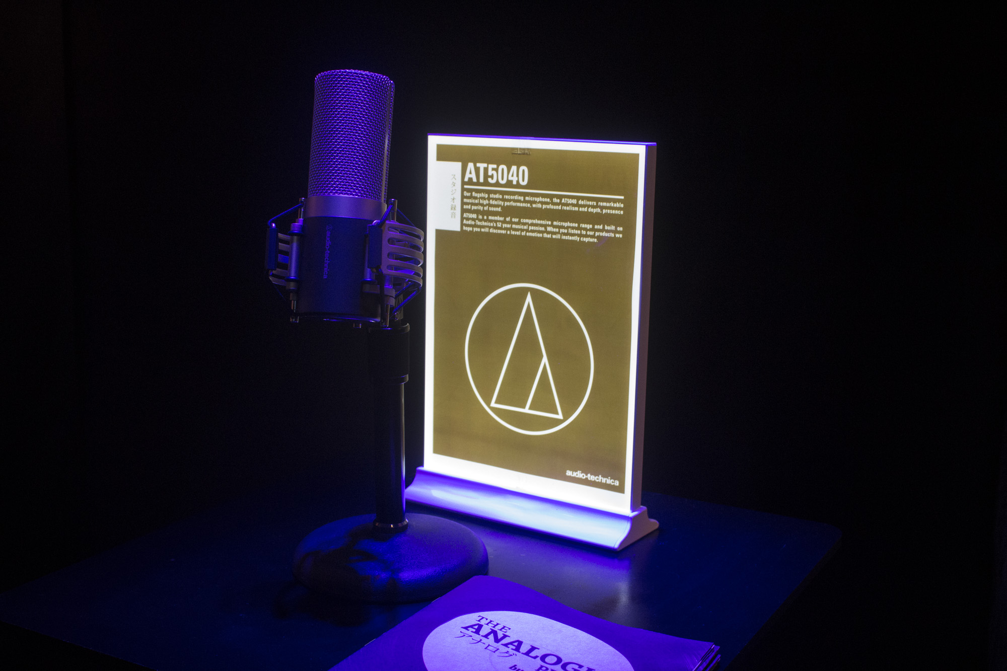 Glowpro at Audio Technica Pop-Up