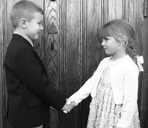 Children's Introduction Etiquette
