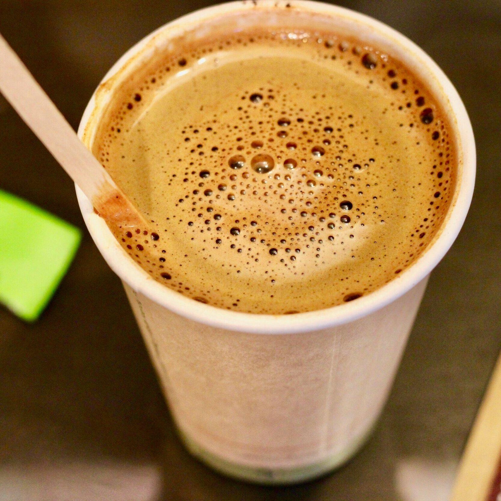 Vegan hot Chocolate -