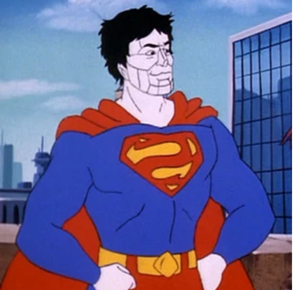 """""""Though Bizarro acts in what he believes to be the best manner, his Bizarro logic often causes him to act for evil."""" Thanks  Superman Wikia  for the quote and picture!"""