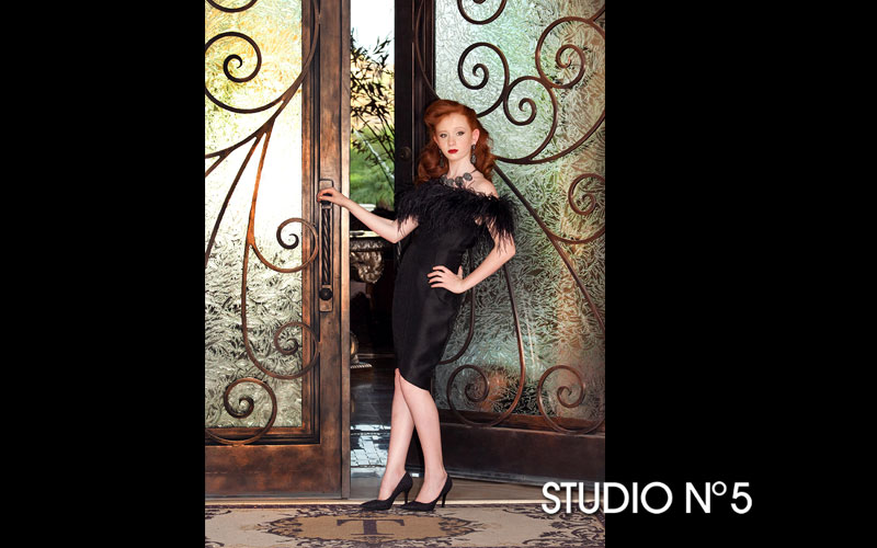 Tyler's Pre-Bat Mitzvah photo session was all about glamour!