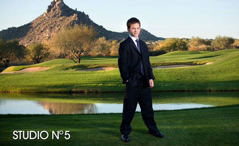 Troon Country Club in Scottsdale. Family portraits..