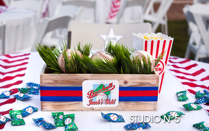 Party theme: Baseball