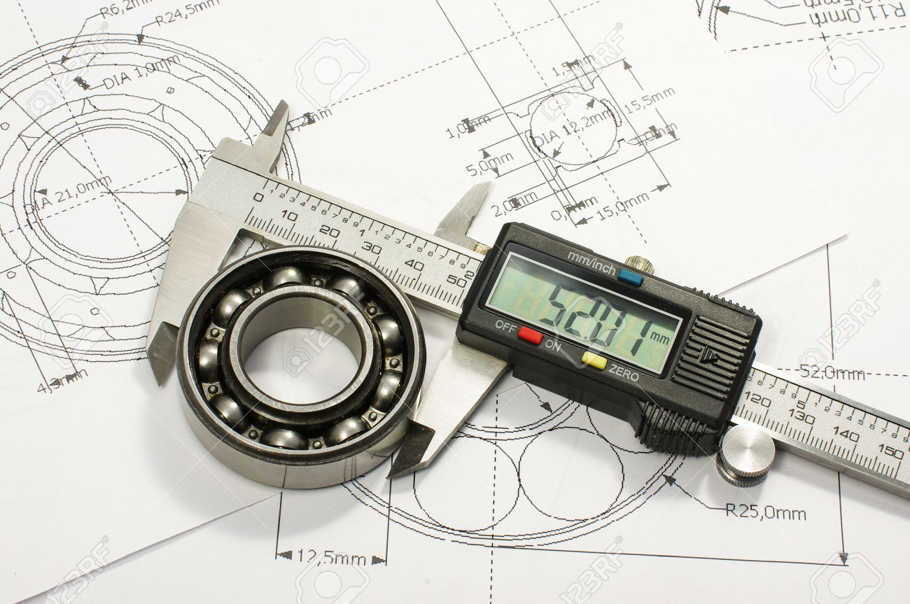 50325768-Bearing-and-caliper-on-the-mechanical-engineering-drawing-Stock-Photo.jpg