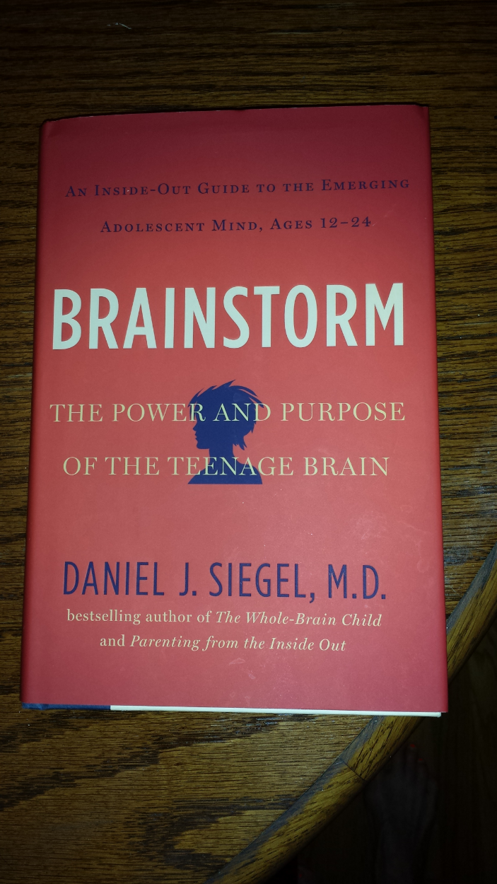 When it comes to making sense of adolescent behavior, Dr. Dan Siegel is an expert on interpersonal neurobiology. I recommend reading his book to the parents and adolescents I work with.