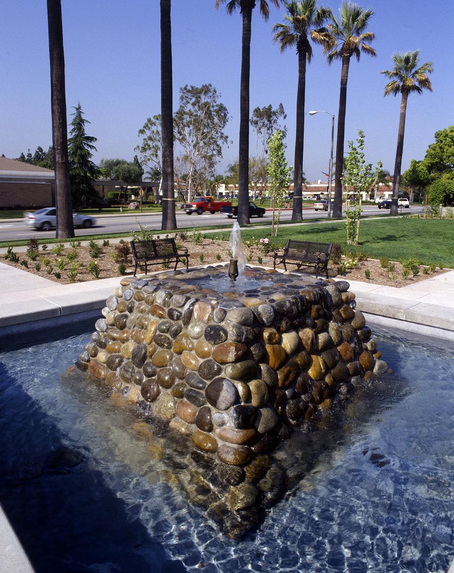 San Dimas Town Center Fountain