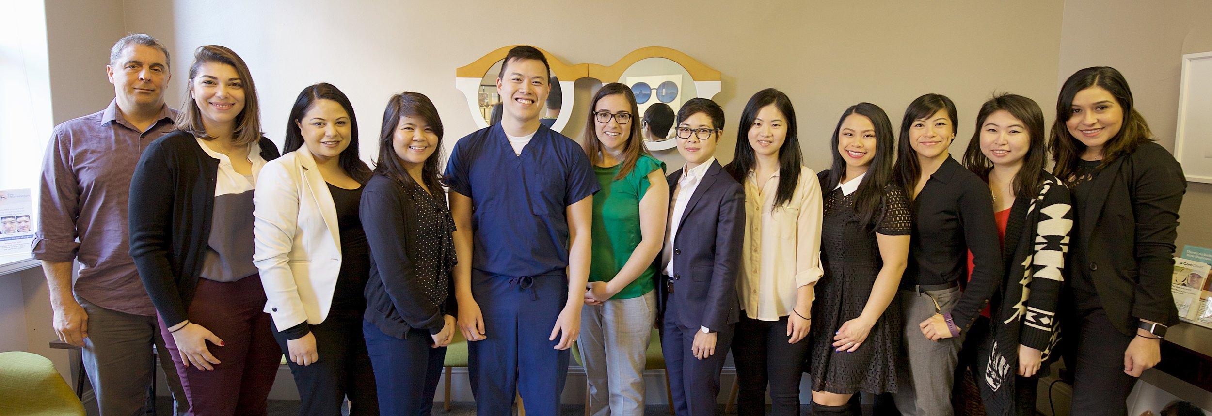 eyecare associates of san francisco team