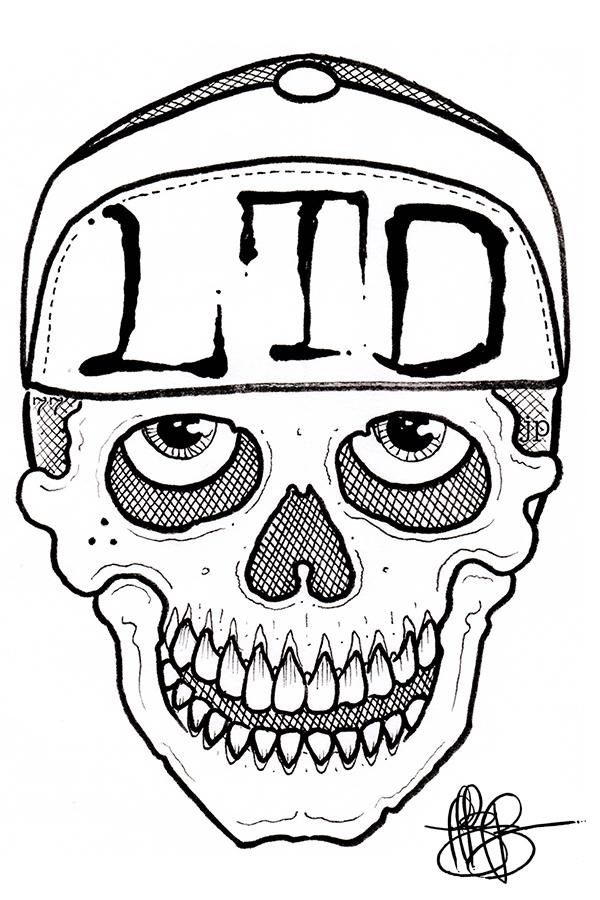 Jeffery-Page-Tattoo-Artist-Fine-Los-Angeles-LTD-Skull-Livin-The-Dream-OG-PUNK-GANGSTER.jpg