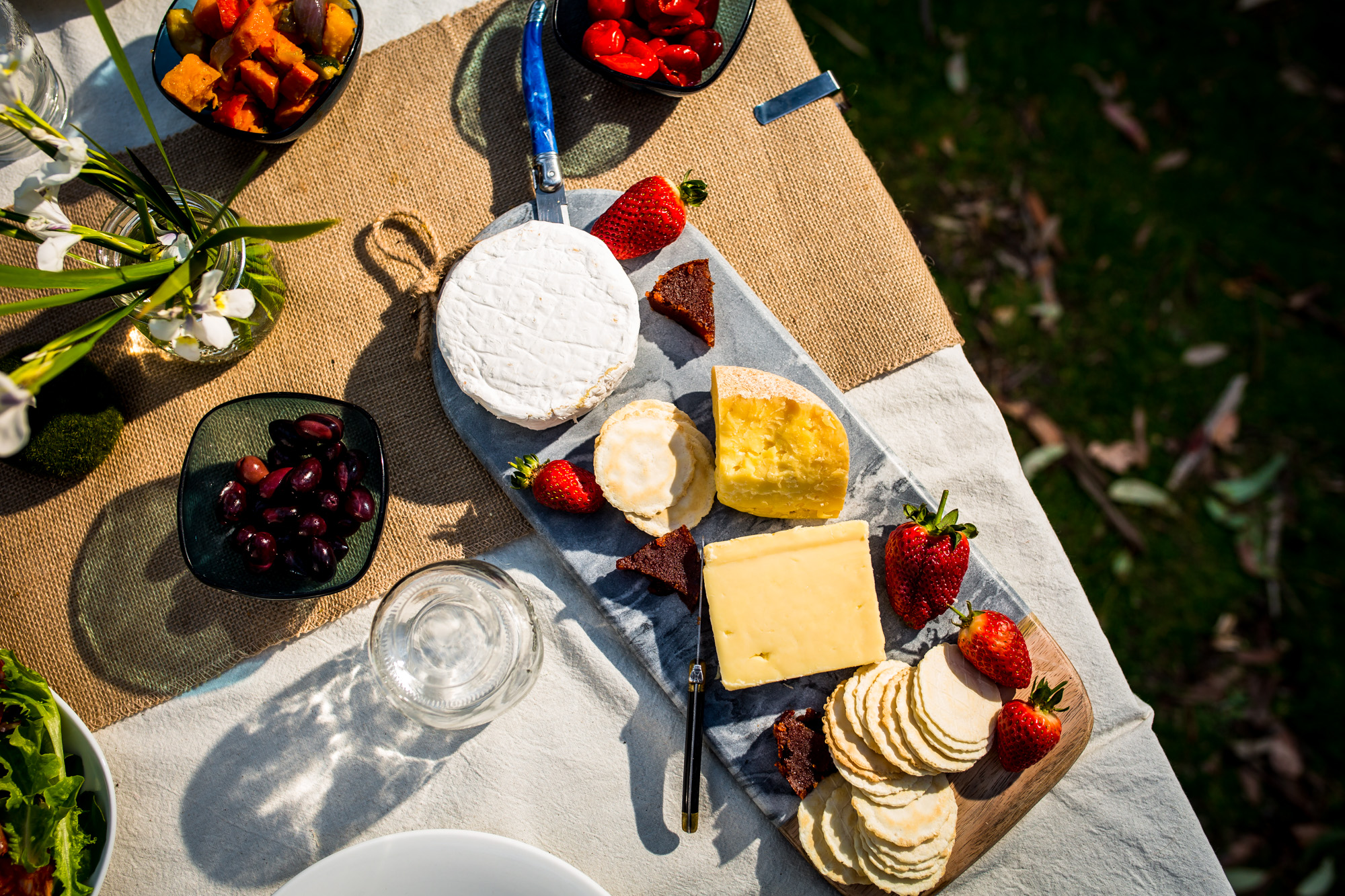 Scrumpous Tasmanian cheese plater from Bruny Island Cheese Company.jpeg