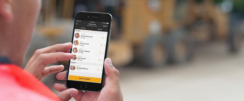 Rhumbix Timekeeping Mobile App