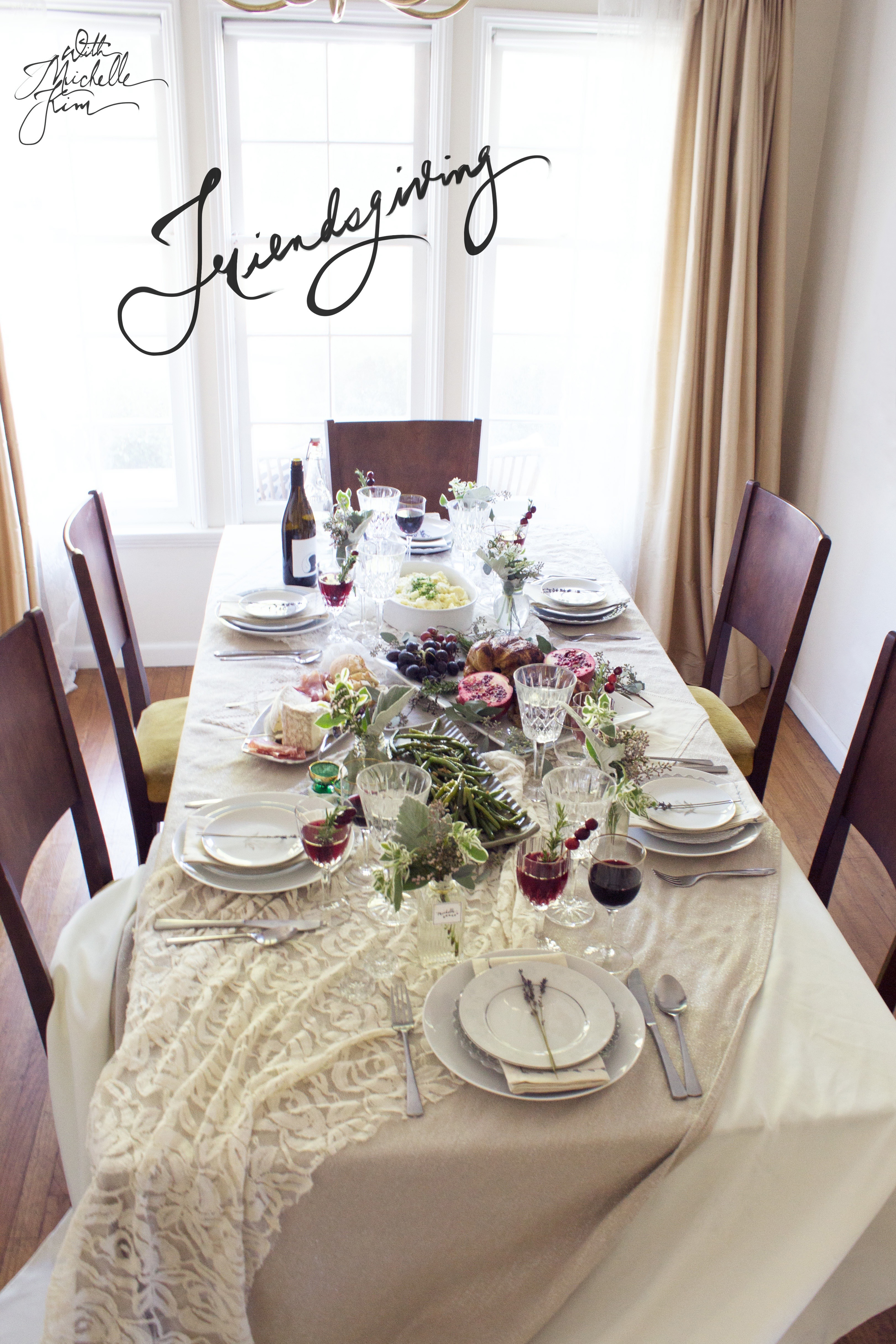 Friendsgiving Tablescape (www.withmichellekim.com)