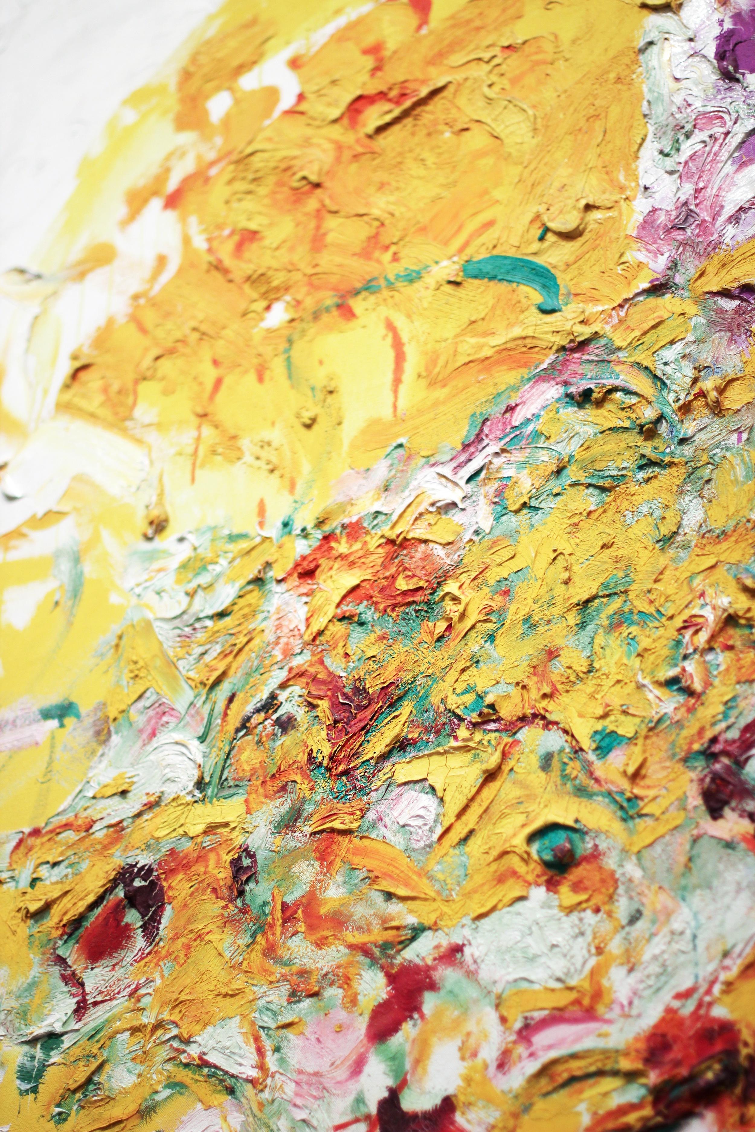 Joan Mitchell's Sunflowers