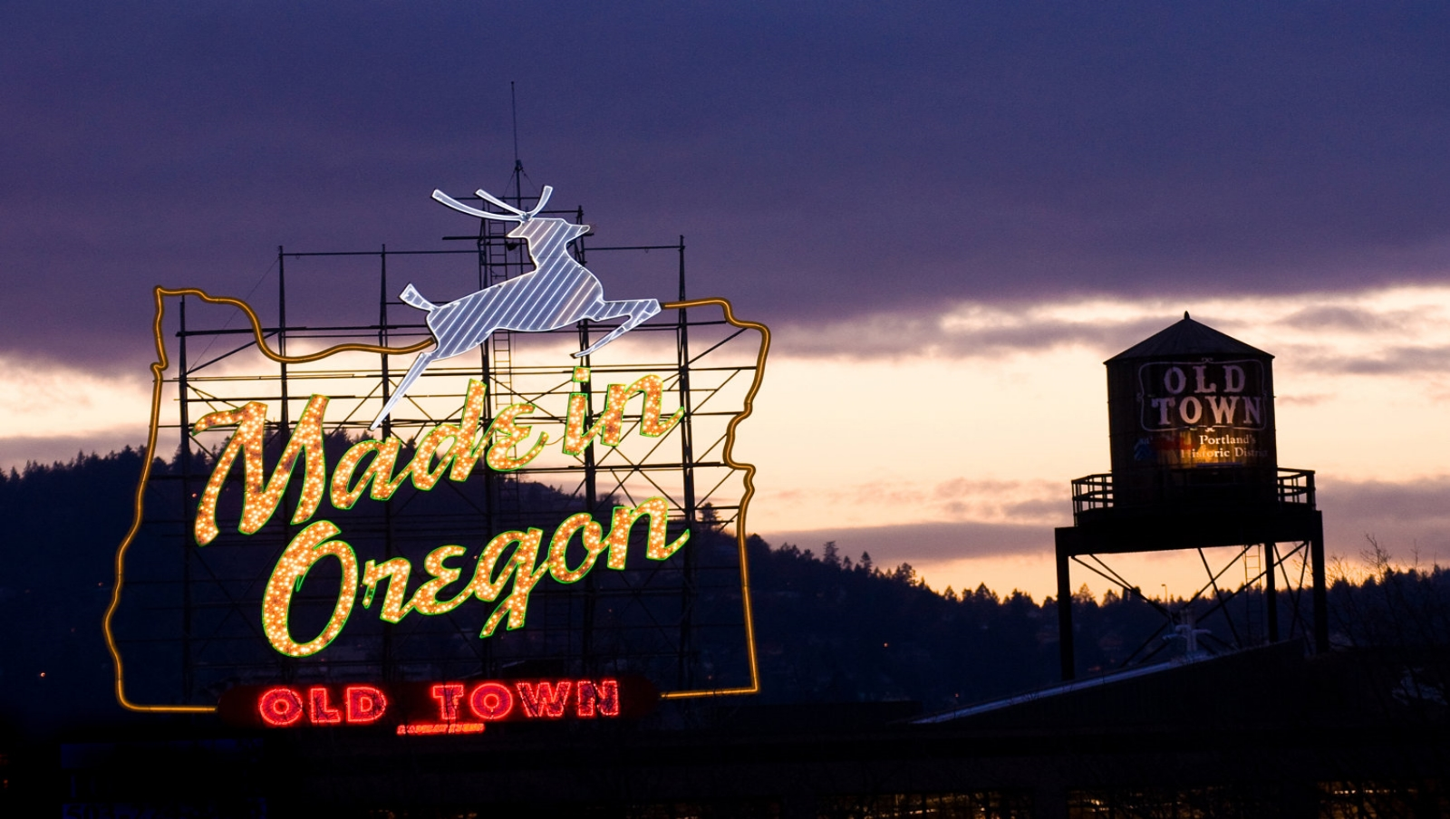Locally Made   You're at Home    Made in Oregon