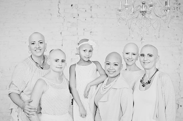 It's Alopecia Awareness Month and I'll be resharing these beautiful ladies' stories. They are beautiful and I have loved getting to know them all. It's been over a year since we took these photos, and with many I am still in contact with. So much has changed, with Facebook/ support groups growing in numbers, news opportunities, modeling and so much more! Styling: @cochicstyling  Makeup: @jacquelinegamache  #clickforhope #alopecia #alopeciaareata #alopeciaawareness #alopecianbeauty #baldisbeautiful #alopecian #baldie #baldgirls