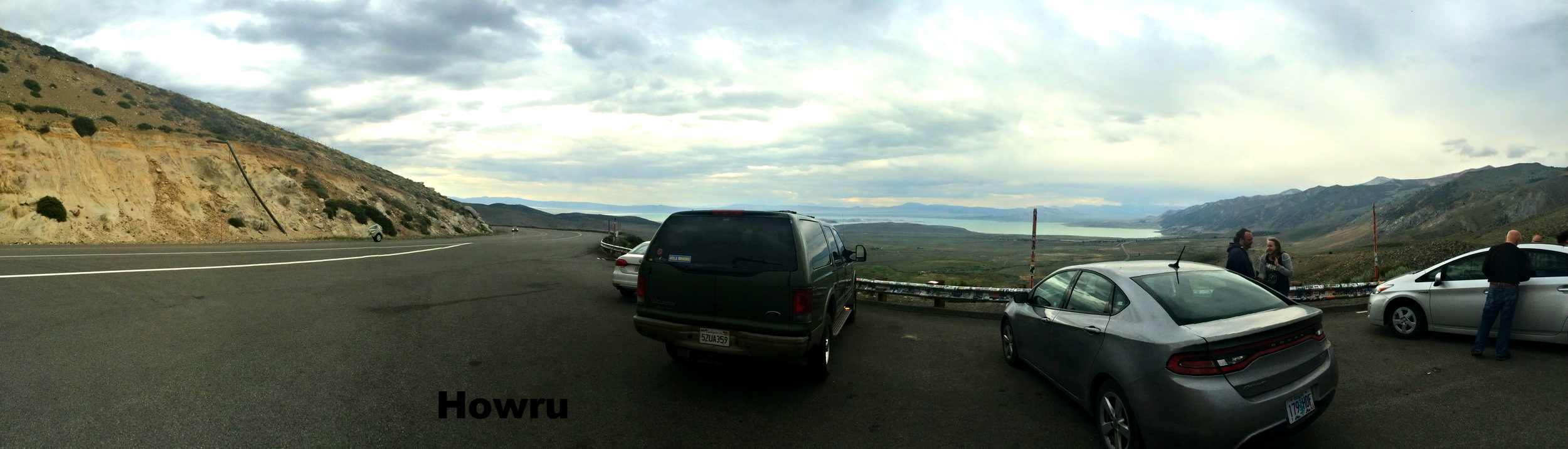 Headed south on the 395 from Tahoe.