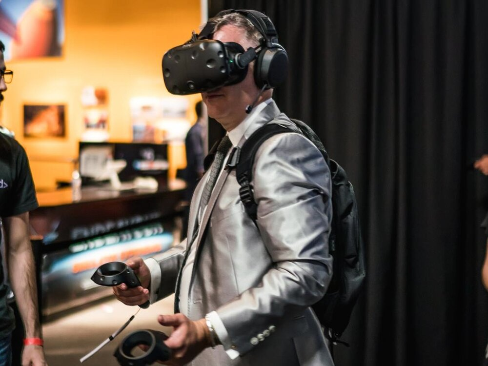 VR by CosmicPerspective and Axiom Space - Experience the awe and power of a real rocket launch or explore a space station module using augmented and virtual reality (AR/VR) to put you in the middle of the action! Multiple locations will be set up around the party venue.