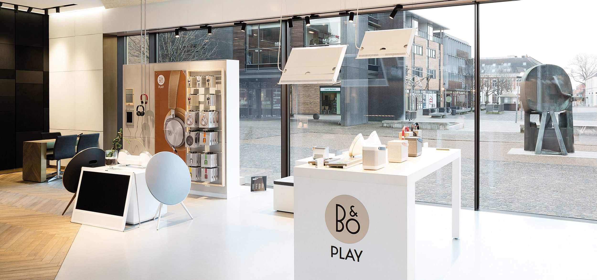 Store in store design concept 'B&O Play' integrated in Bang & Olufsen shops worldwide