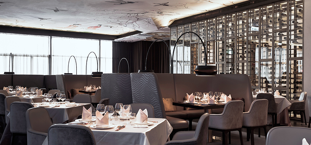 Luxury restaurant in Taipei with interior design by Danish design agency Johannes Torpe Studios