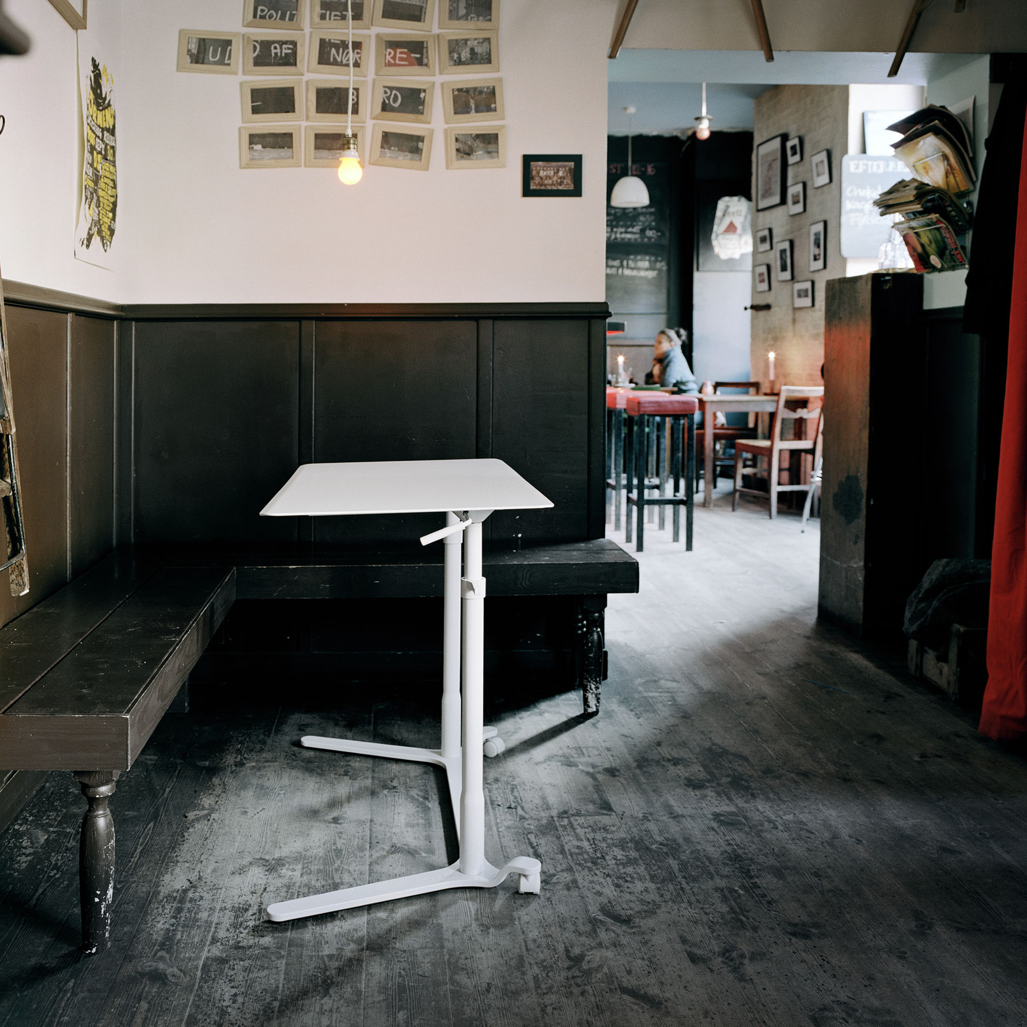 Haworth office furniture 'Space Enabler' at a bar in Copenhagen