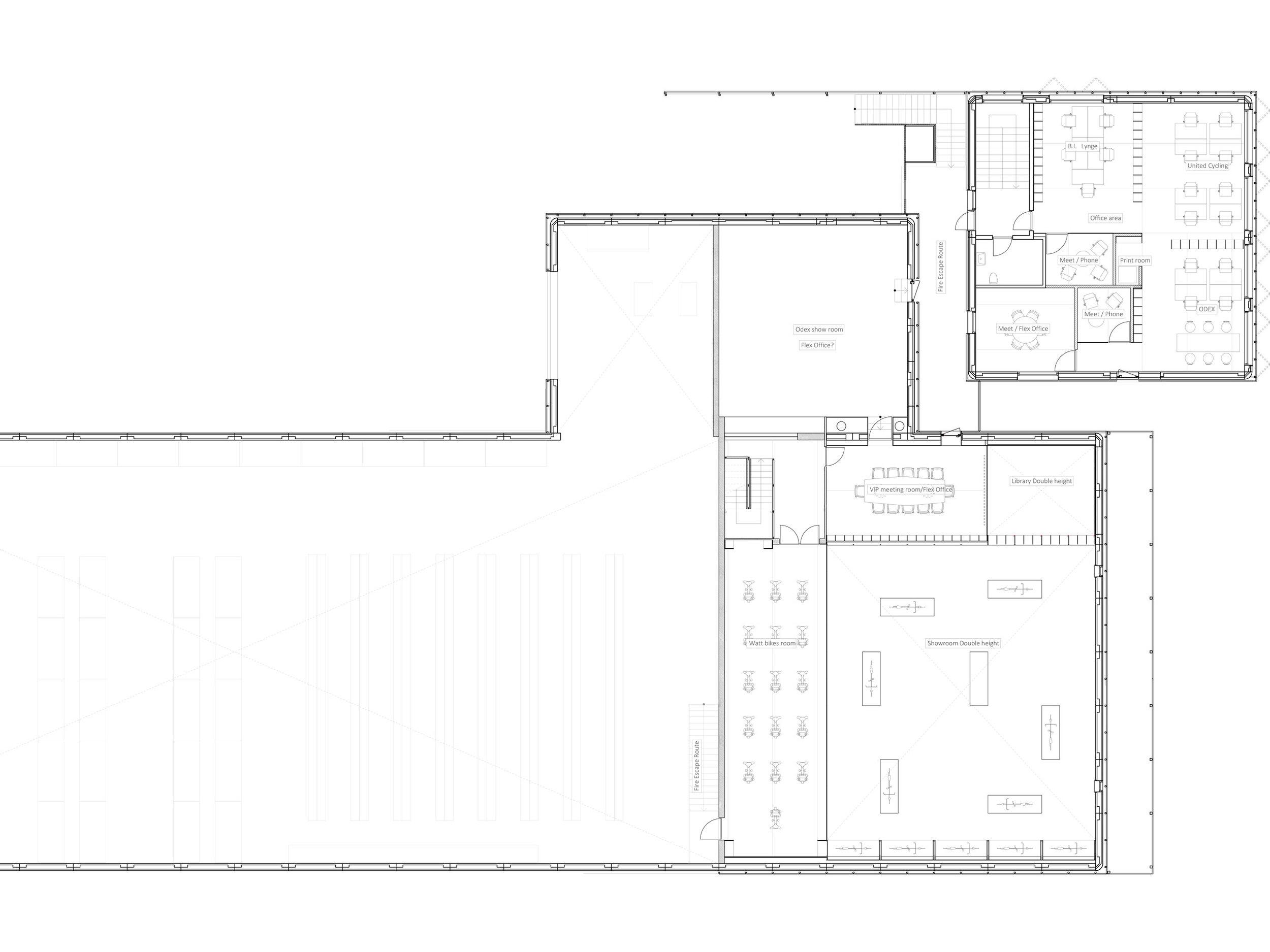 Plan, First floor, 1:150