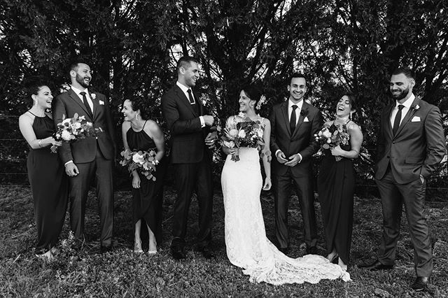 So many happy moments on this amazing day.  Bride: @katrinamborg  Groom: @kfaiz88  Location: @dryridgeestate . . . . . #bluemountains #bridalparty #weddingphotography #sydneyweddingphotographer #sydneyweddingphotos #weddingphotos