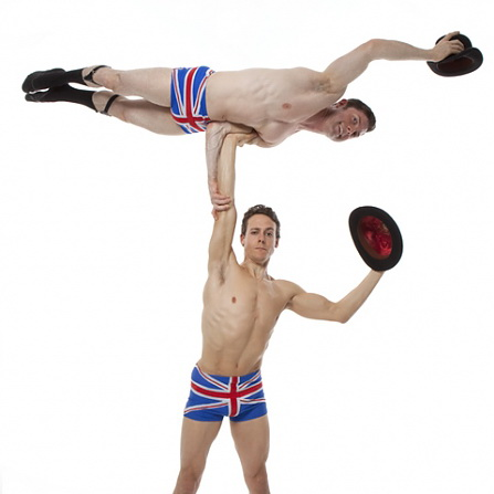 The English Gents - Acrobalance Duo
