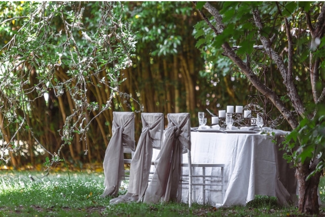 Linen from our sister business Beautiful Linen Hire. Styling by Sassy