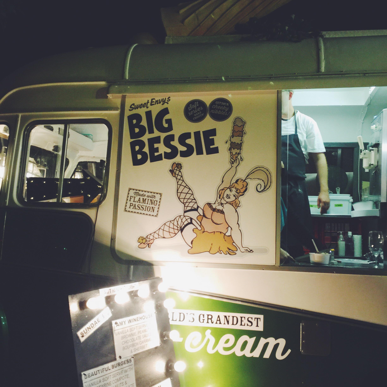 Delicious ice cream van