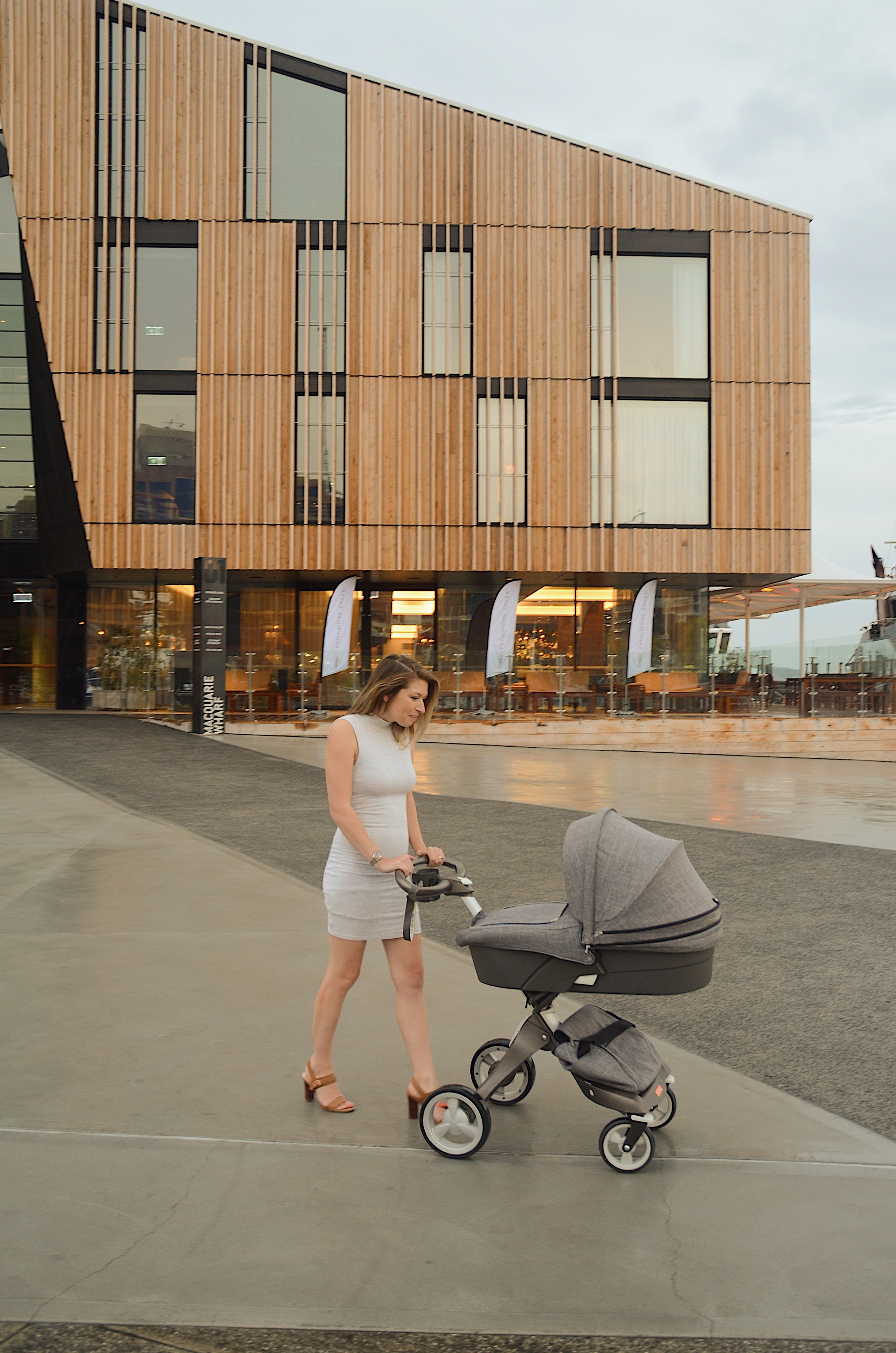The Lounge by Frogmore Creek is located inside the Mac 1 building on Hobart's waterfront
