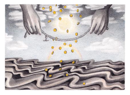 The Gift of the Magi - Illustration for Ausdruck