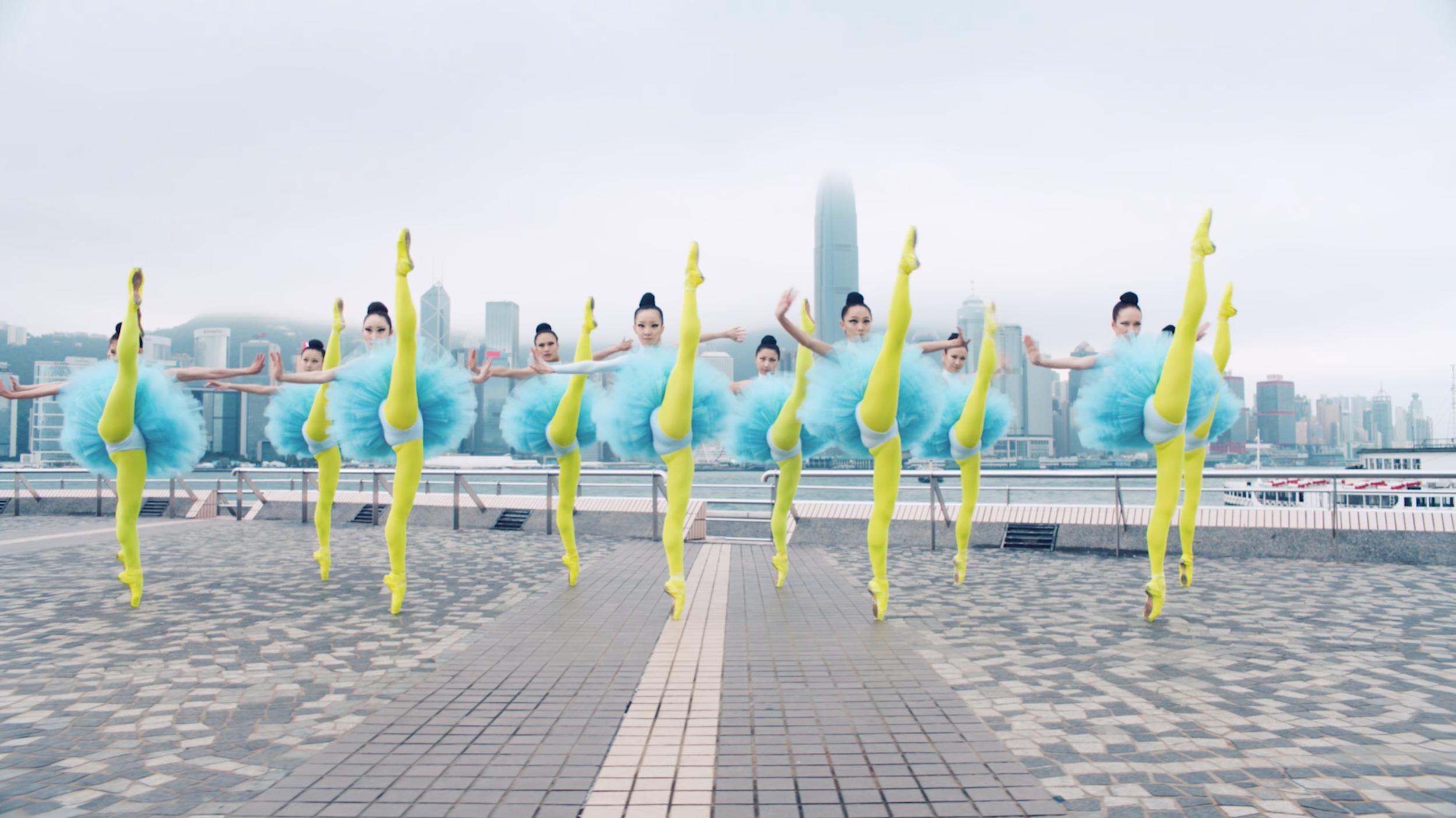 Hong Kong Ballet 40th anniversary campaign
