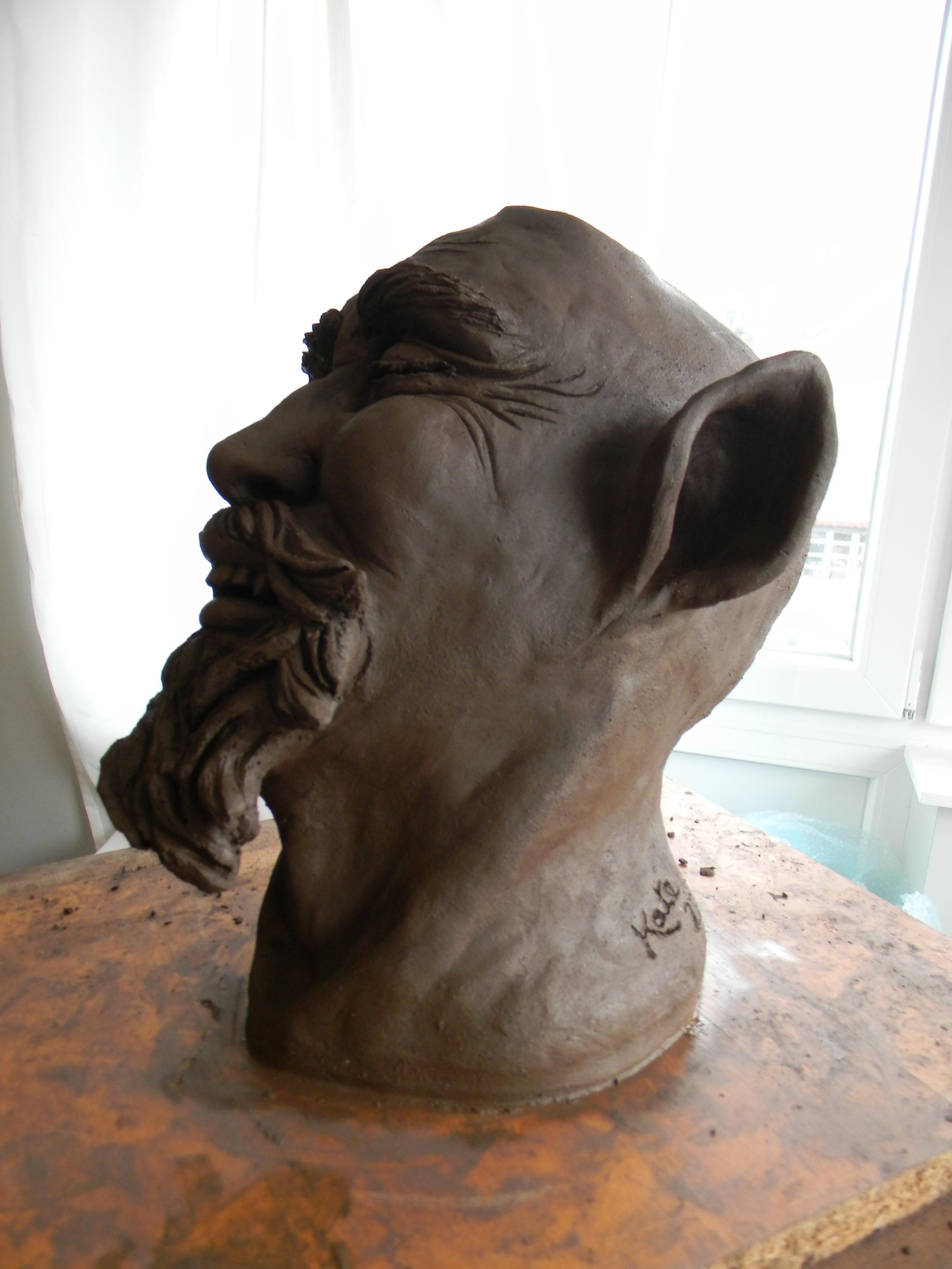 Gaetan, in profile.