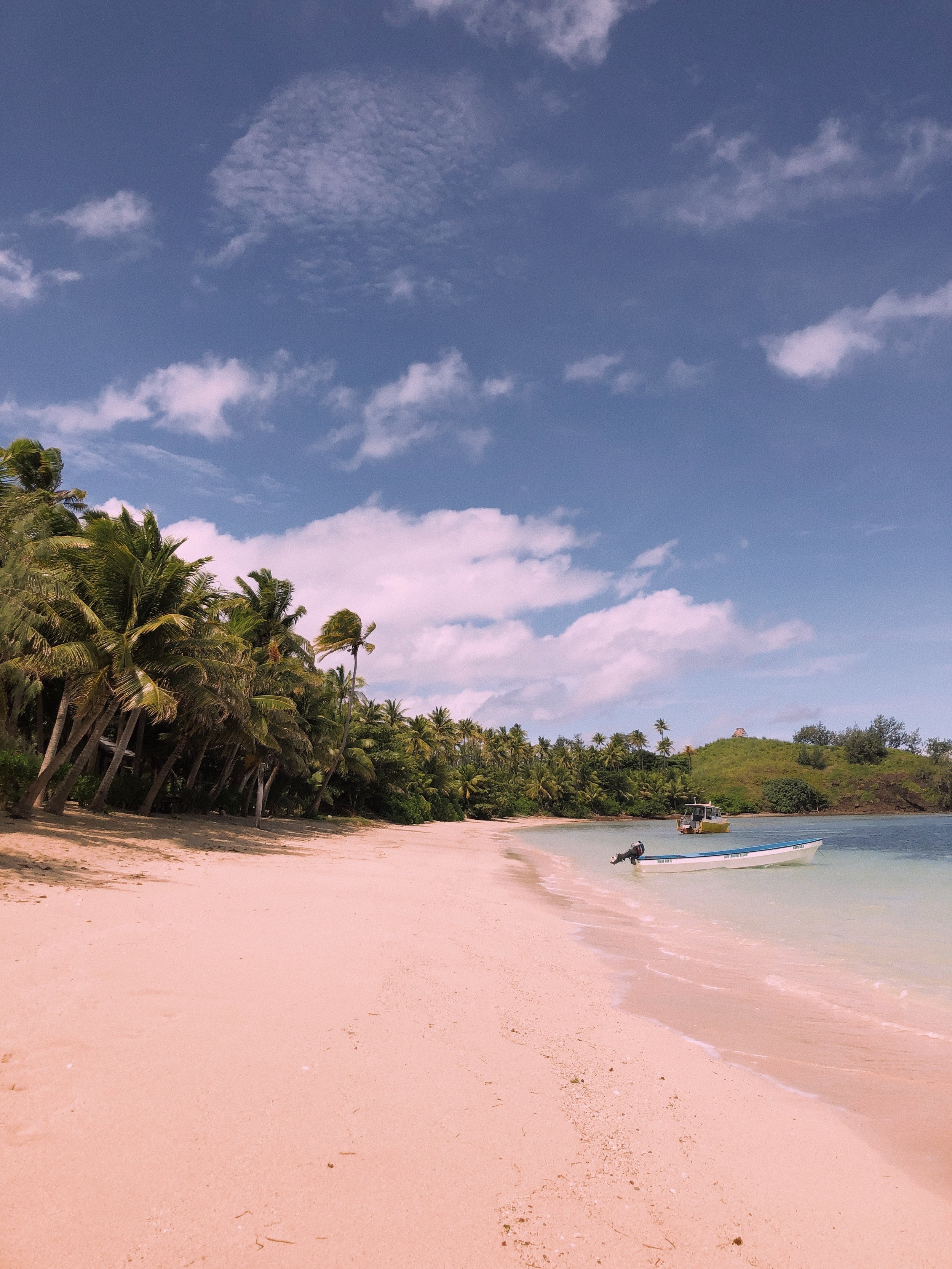 - A truly beautiful part of the world with pristine white sand, clean beaches and turquoise sea that we were lucky enough to spend 7 days on, experiencing the real Fijian way of life from the living spaces, food and daily activities.