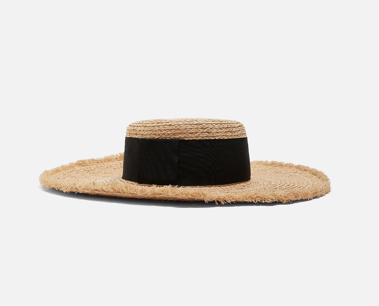 Zara Raffia Hat