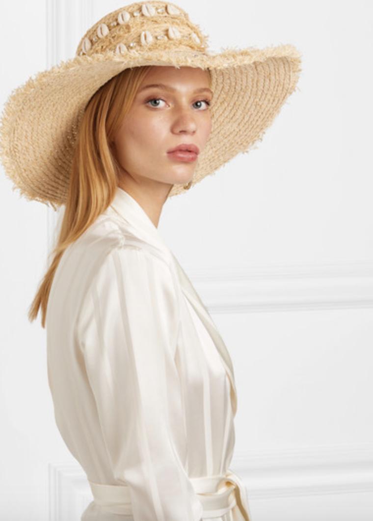 Aquazzura Le Ninè Riviera Hat