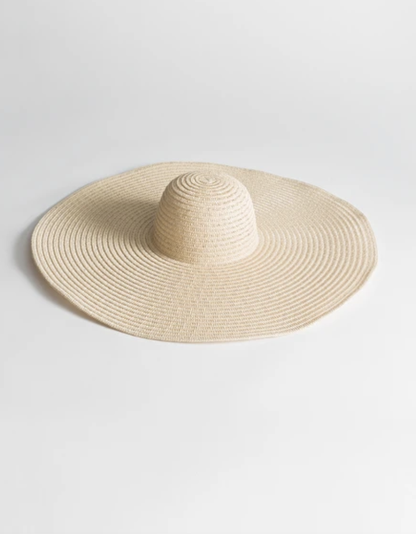 9f5c1b6f & Other Stories Large Straw Hat