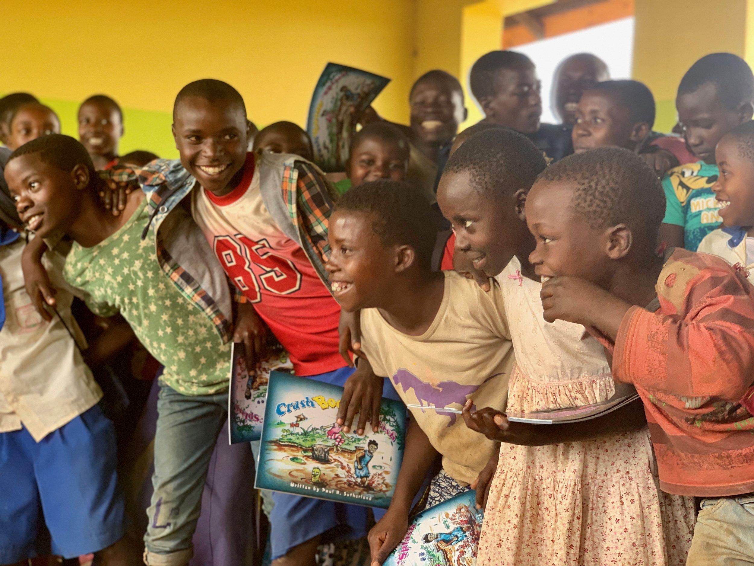Refugee Camp Kyaka II, Uganda