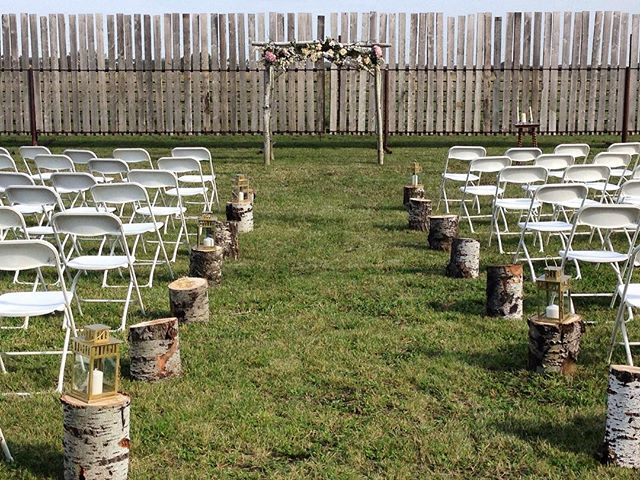 Another beautiful wedding by Decorations by Rick Mayhew! #tent #wedding #decorationsbyrick #rustic #wonderfulwedding #sequence #fabric #stunning #decor #decoration #reception #chairs #ceilingswag #beautiful #banquet #hall #winnipeg #manitoba #wonderfulwinnipeg #winnipegweddings #canada #outdoors #rustic #wood