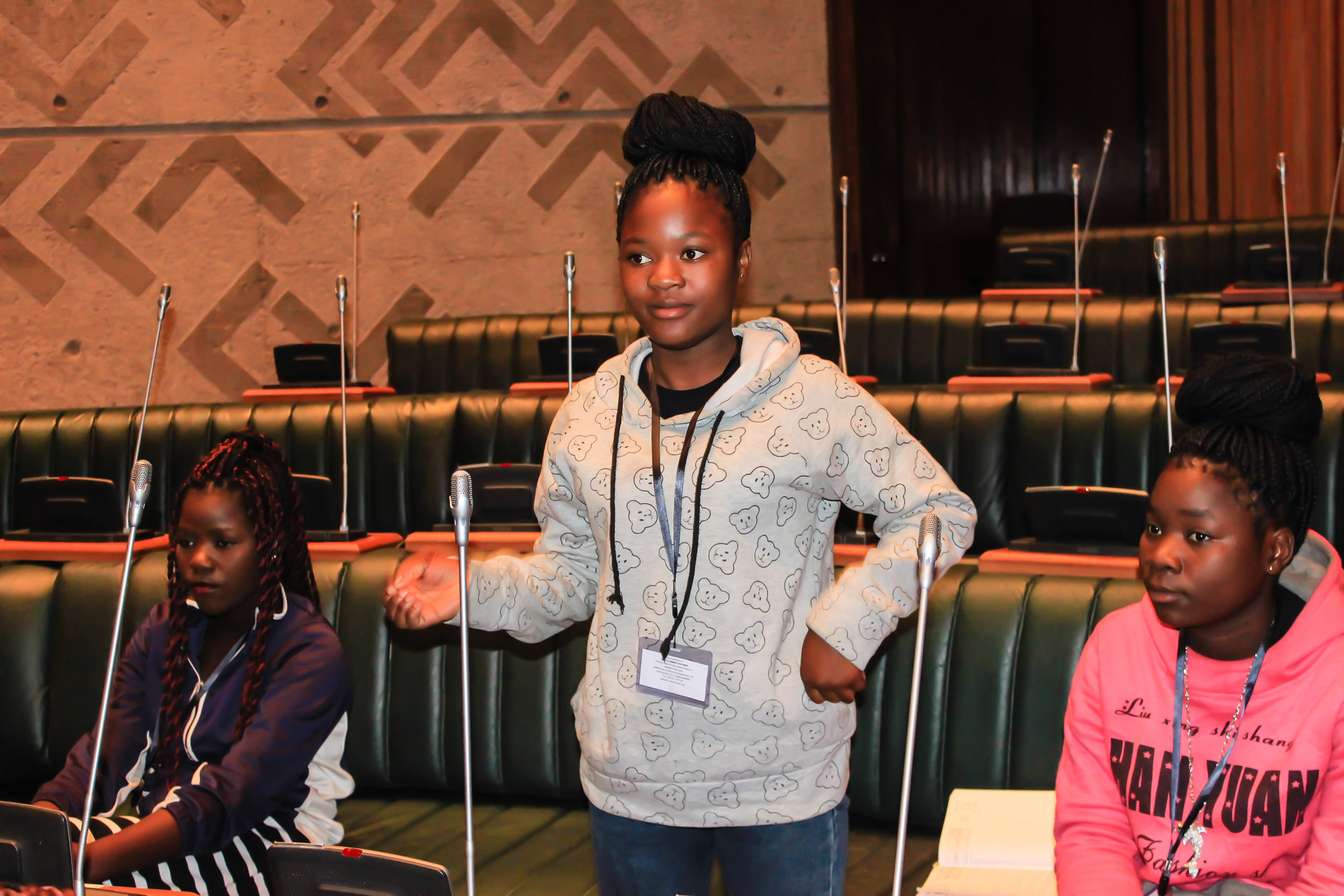 Parliament field trip April 26, 2017