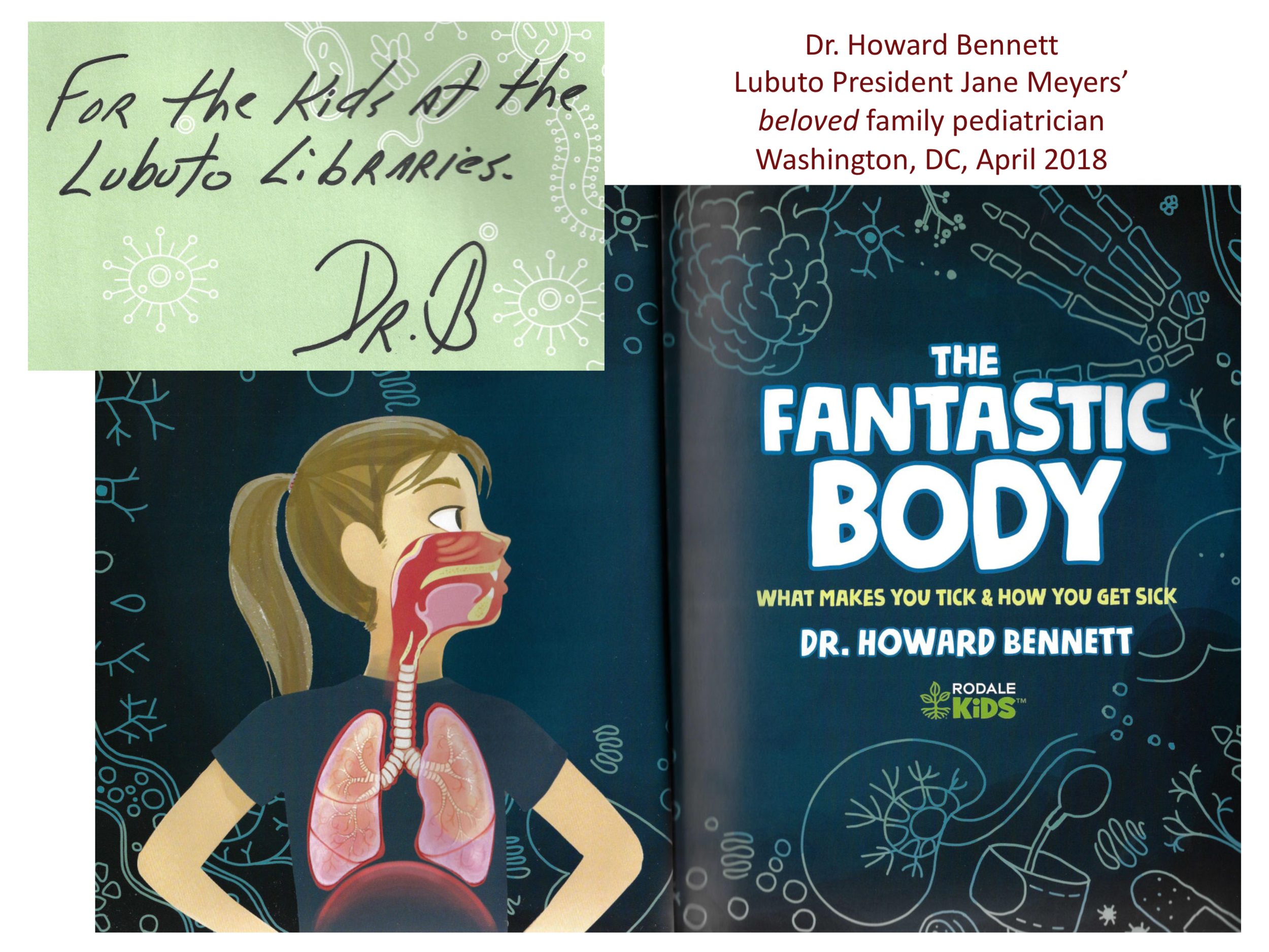 The Fantastic Body  by Dr. Howard Bennett