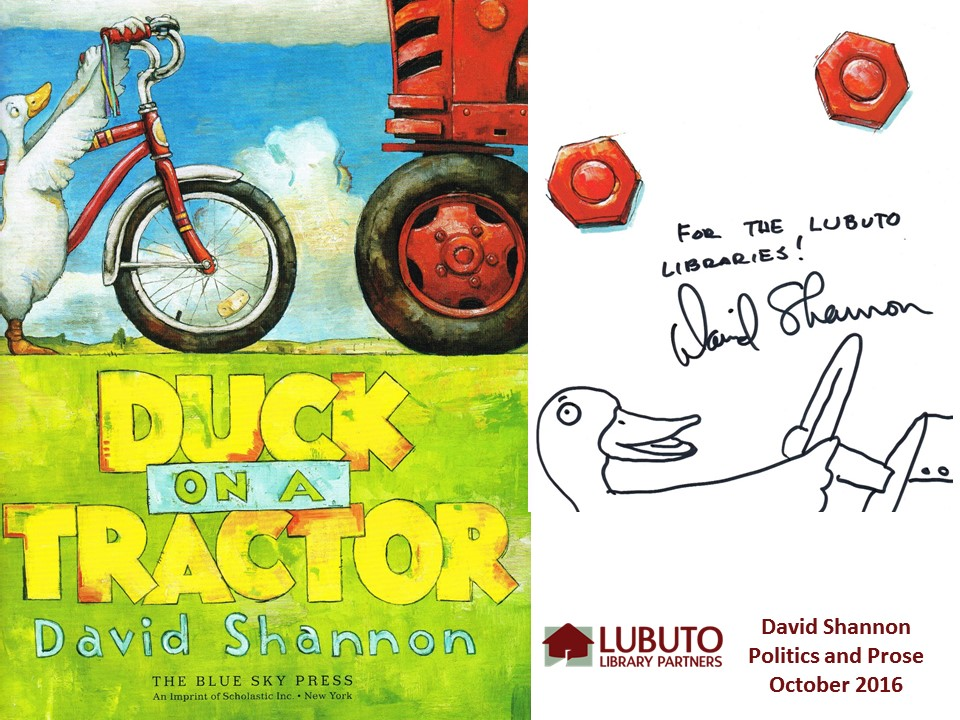 Duck on a Tractor  by David Shannon