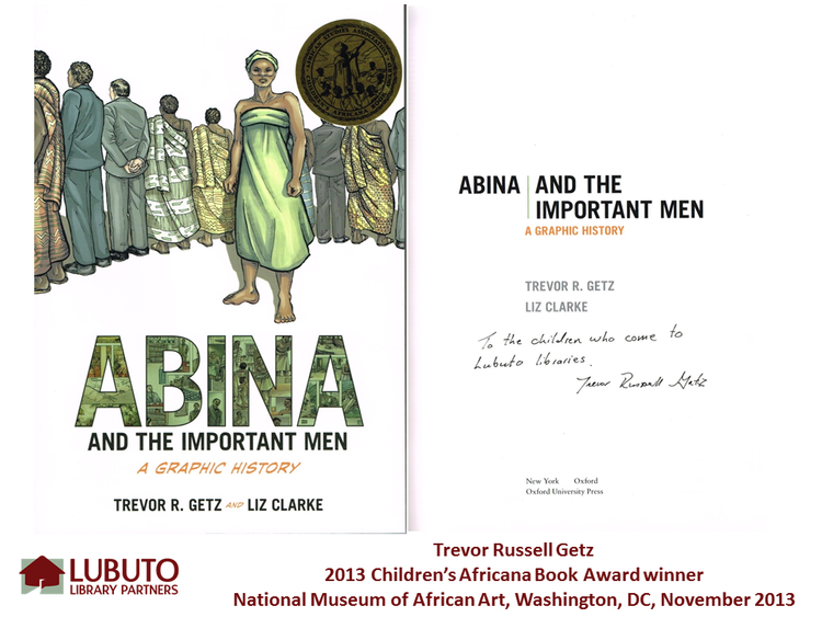 Abina and the Important Men  by Trevor Getz