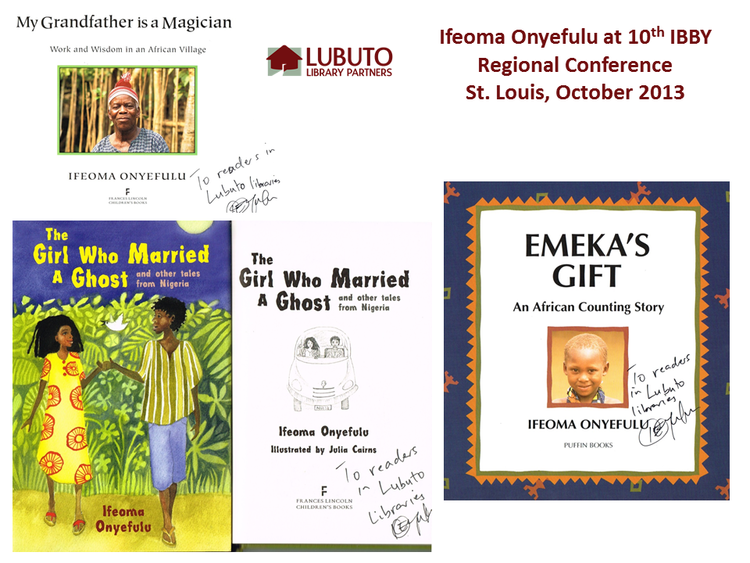 The Girl Who Married and Ghost  and  Emeka's Gift  by Ifeoma Onyefulu