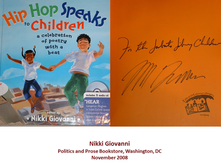 Hip Hop Speaks to Children  edited by Nikki Giovanni