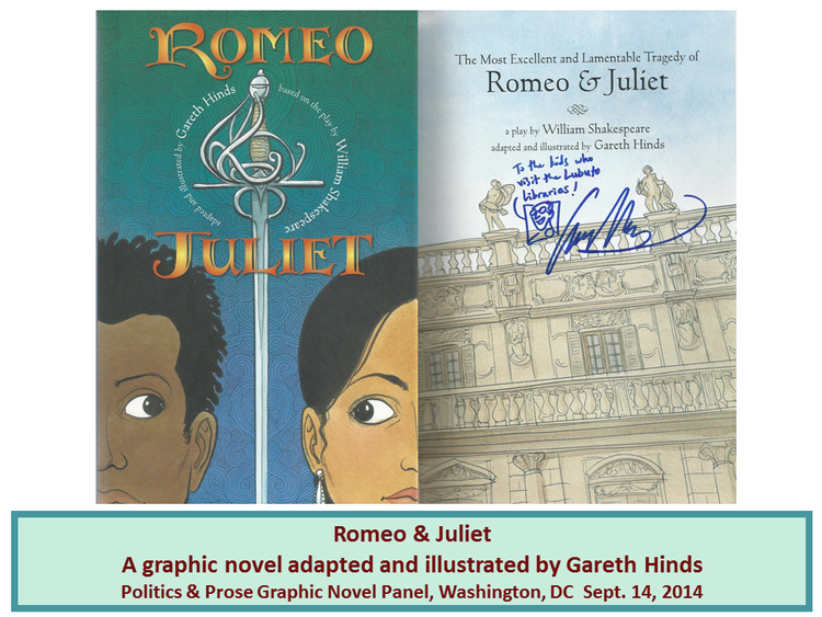 Romeo & Juliet  adapted and illustrated by Gareth Hinds