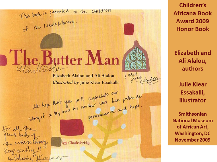 The Butter Many  by Elizabeth Alalou and Ali Alalou and Illustrated by Julie Essakalli